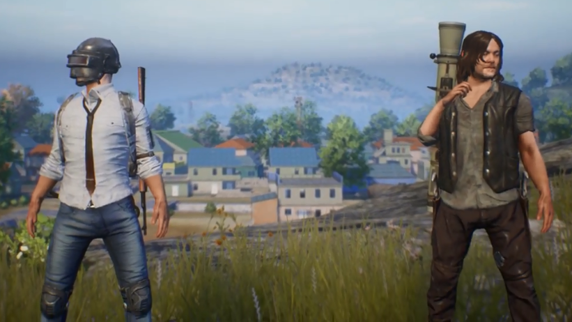 Comienza el crossover entre PUBG Mobile y The Walking Dead