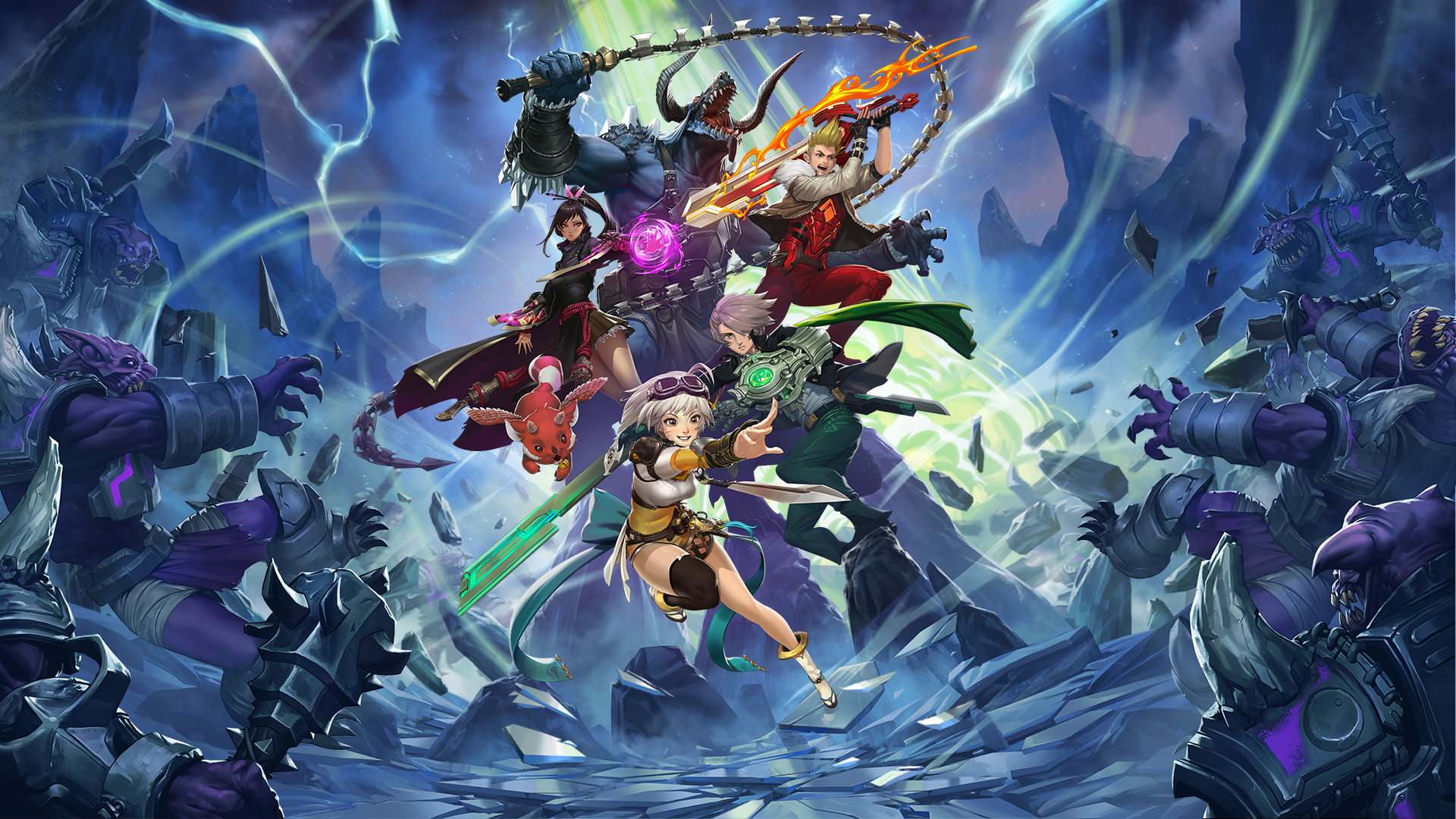 Epic Games lanza Battle Breakers, un RPG free-to-play para móviles y PC